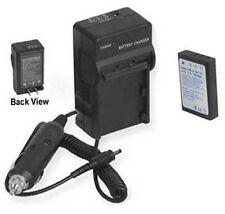 Battery + Charger for Ricoh Caplio G4 wide G8 GX GX8 RR10 RR30 R330 RX camera