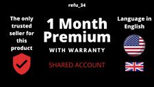 [🚀Fast ] Netflx 1 Month Premium With Warranty | SHARED | 1 Screen
