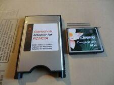 pcmcia mercedes compact flash 4GB mit adapter