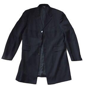 VERSACE Collection Chest 44 Blazer Vtg 80s  New Long Versus