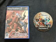 NEO CONTRA Sony Playstation 2 Game PS2