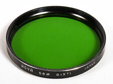 Hoya 58mm Green [X1] Filter - **Excellent Cosmetic Condition**