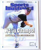 Curt Schilling Autographed Magazine Sports Illustrated Diamondbacks JSA II24330