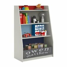 Ameriwood Home Kaleidoscope 4 Shelf Storage Bookcase in Classic