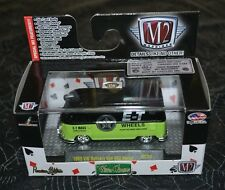 M2 MACHINES CASTLINE WILD CARDS 1960 VW DELIVERY VAN USA MODEL WC09