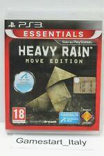 HEAVY RAIN - MOVE EDITION - SONY PS3 - GIOCO USATO PERFETTAMENTE FUNZIONANTE PAL