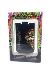 Ed Hardy TIGER Leather Pocket Case Cover Pouch for iPhone 4 4S 3GS iPod Touch 4G