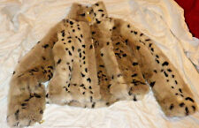 BABY PHAT faux leopard fur bolero jacket coat zip front Used excellent condition