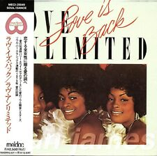 Love Unlimited Orchestra LOVE IS  BACK 1995 JAPAN DELUXE MLPS CD OOP RARE