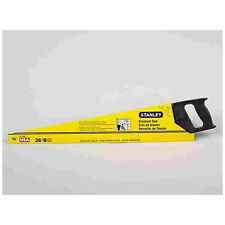 Stanley 15-726 Crosscut Hand Saw With Plastic Handle, 26""