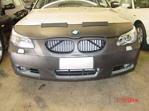 Colgan Front End Mask Bra 2pc.Fits BMW 525i 530i 545i 550i 04-07 W/Lic W/wash