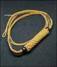 "Thrakrud Thai Amulet Holy Talisman Powerful Magic Protection Belt Takrud 45"""