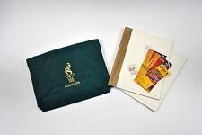 1996 Atlanta Olympic Opening Ceremony Gift Bag Pin Program Ticket Stub 7pc set