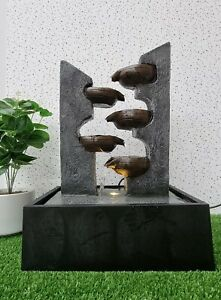 Water Fountain, Water Feature with LED Light, Contemporary design - Dream