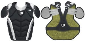 Wilson WTA4700 Pro Stock Catchers Chest Protector Black Various Sizes