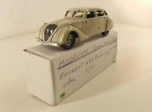 Modelling France Peugeot 402 Saloon 1938 New Mint Box Kit Resin Assembled 1/43