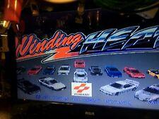 Konami Winding Heat PCB Arcade Board Set w/JAMMA adapter wire harness Working