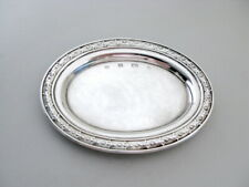 1992 - by Carr's of Sheffield Solid Silver Pin Dish - Shefffield
