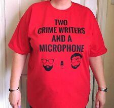 Due scrittori del crimine e un microfono T Shirt S-3XL