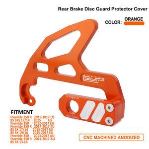 Motorcycle Rear Disc Brake Guard For  Freeride 250R 350 SXS85 SX85 Orange