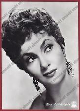 GINA LOLLOBRIGIDA 63 ATTRICE ACTRESS CINEMA MOVIE STAR PEOPLE Cartolina FOTOGRAF