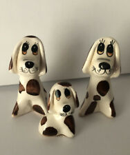 Vintage Philip Laureston ceramic Mother and Aunt Dogs with Pup