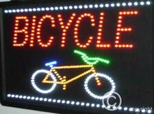 QUALITY  FLASHING  BICYCLE led new window shop signs