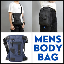 MENS Crossbody leg bag sport pouch sling pack storage fashionable trendy