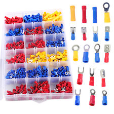 1200pcs Assorted Electrical Wiring Insulated Crimp Terminals Butt Connectors Set
