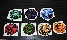 Stickers from CS GO in Real life Bestiary Phoenix Basilisk Dragon Pegasus