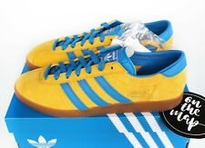 Adidas Originals Malmo Yellow Blue Gold City Series UK 10.5 US 11 New