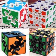 2 Style Gear Cube Twist Puzzle Speed Intelligence Magic Cubes educational toys