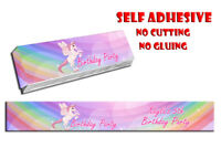 14 X PERSONALISED SELF ADHESIVE KITKAT UNICORN PARTY LABEL WRAPPER CHOCOLATE