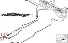Orig.BMW Kraftstoffvorlaufleitung vorne 3er Reihe E46 320i 325i 330i 16126752183
