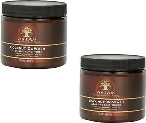 As I Am Coconut CoWash Cleansing Conditioner 454g 16oz (Pack of 2)