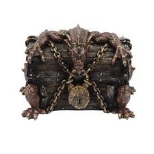 Red Fire Dragon Chest Desktop Diversion Hidden Compartment Cash/Pill/Stash Box