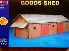 Miniart 1:72 Goods Shed Building Model Kit