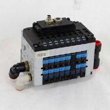 FESTO CPV10-GE-FB-8 8 Valve Pneumatic Solenoid Block