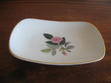 WEDGWOOD OBLONG SMALL PLATE / DISH HATHAWAY ROSE EXCON