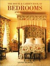House & Garden Book of Bedrooms and Bathrooms Hardback Book Decorating