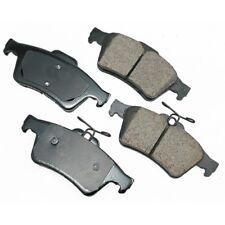 Akebono Rear Ceramic Brake Pad Set for Mazda EUR1095 - Made in USA - Ships Fast!