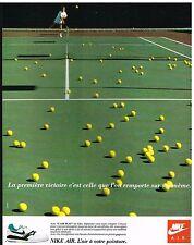 Publicité Advertising 1988 Les Baskets Nike Air