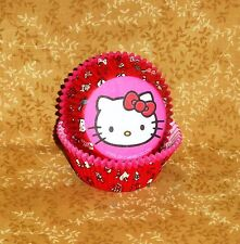 Hello Kitty Cupcake Papers,Pink,Sanrio,Wilton, 415-7575,Bake Cup, Party