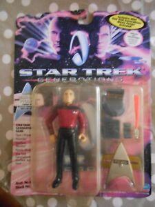 Playmates Star Trek Generations Captain Picard Action Figure Toy