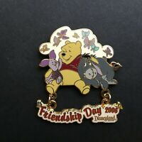DLR - Friendship Day 2006 - Winnie the Pooh, Piglet, and Eeyore Disney Pin 48246