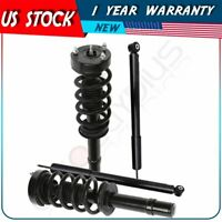 2x Front Complete Struts Mounts and 2x Rear Shocks Fits 2012-2017 Dodge Charger