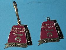 2 Imperial Potentate Shriners Mason Masonic Charm Key Chain Fob 2002 - 2003
