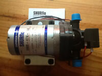 Shurflo 2088-474-144  3 gpm 24volt 45 psi pump NEW