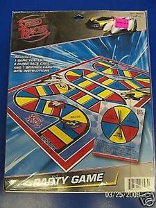 RARE Speed Racer Racecar Driver Cartoon Movie Birthday Party Favor Activity Game