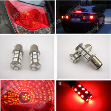 2 Pcs 1157 BAY15D 18SMD LED 5050 Plasma Red Tail Turn Signal Car Light Bulb Lamp